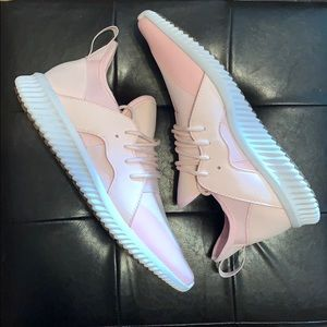 MENS STEVE MADDEN SIZE 13 PINK GETCHA SNEAKERS